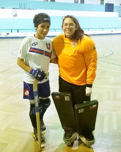 Ayleen Garrido y Paulina Santibáñez ya entrenan con el Santa Cita de Lisboa.